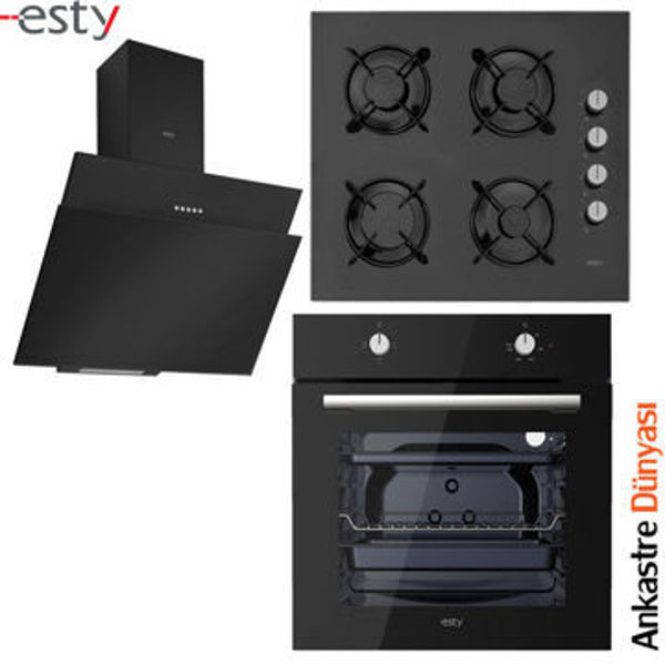 Esty Ankastre Set [3462.6+ACO5601B01+AEF6601B01] (ES41) resmi