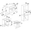 Franke SMART LINEAR DIGITAL FSL 86 H XS INOX ANKASTRE FIRIN  resmi