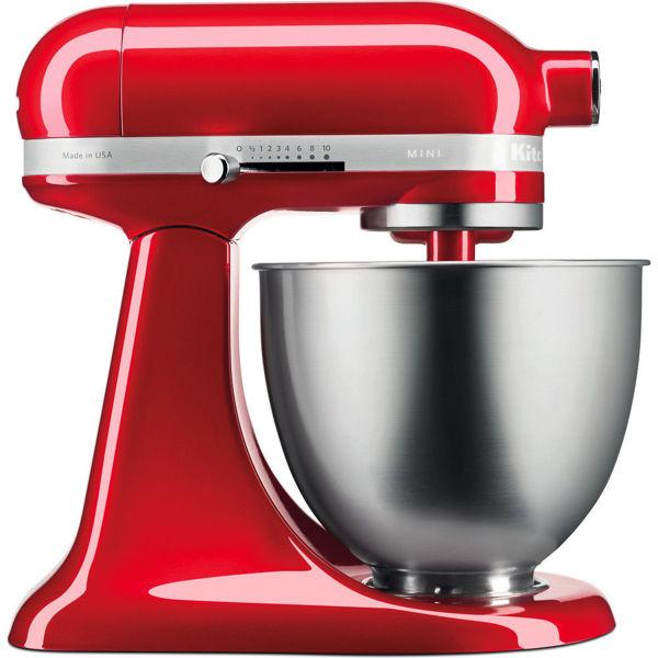 Kitchenaid 3,3 L Mini Stand Mikser 5KSM3311X Candy Apple-ECA resmi