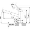 Franke Orbit Doccia Sahara Spralli Evye Bataryası resmi