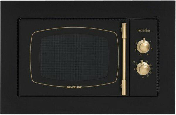 Silverline MW9033B01 Siyah Ankastre Mikrodalga resmi