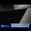 Electrolux LFV619K Siyah Cam Davlumbaz resmi