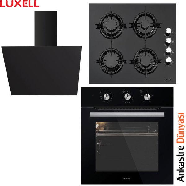 Luxell Ankastre Set [DA6-833+LX40TAHDF+B66-S2(MT)] (LX06) resmi
