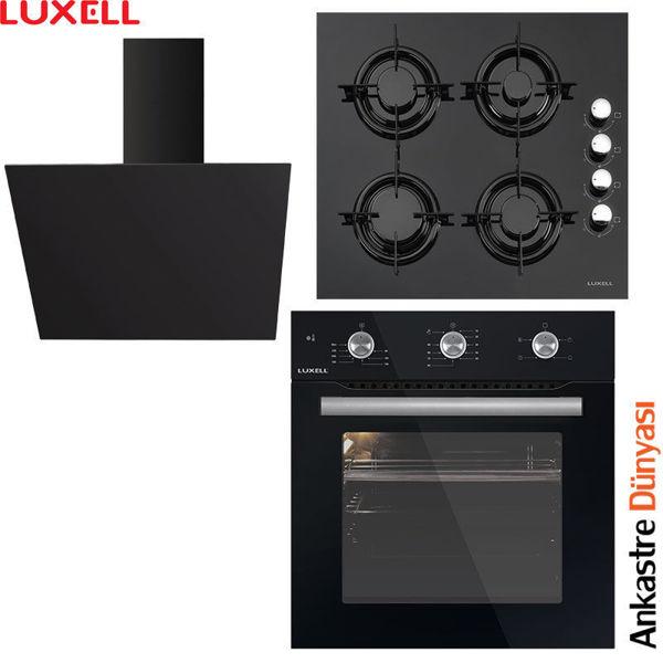 Luxell Ankastre Set [DA6-833+LX40TAHDF+B66-SF2(MT4)] (LX07) resmi