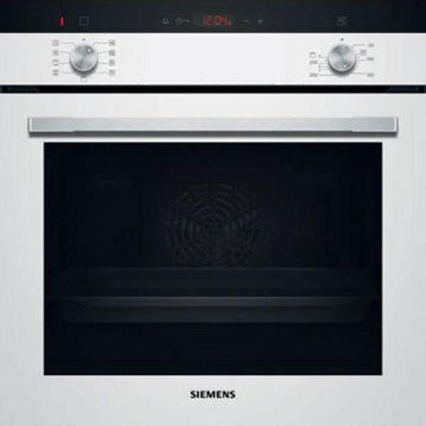 Siemens HI133FEW0T HotAir Steam Buhar Destekli Beyaz Ankastre Fırın resmi