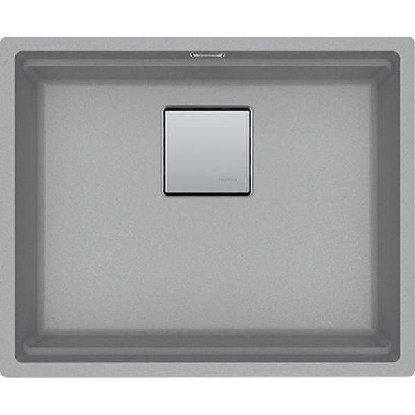 Franke KNG 110-52 Stone Grey Tezgahaltı Granit Evye resmi