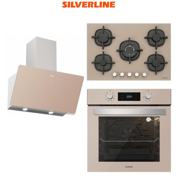 Silverline Vizon Ankastre Set [SOHO60+CS5364M+BO6504M] (SLV103) resmi