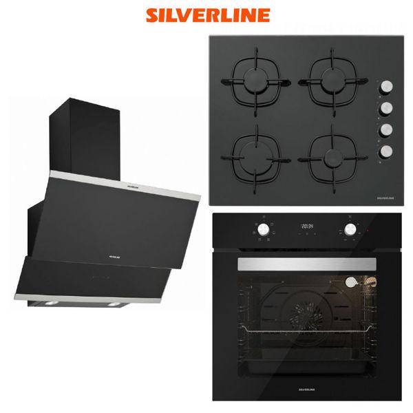Silverline Ankastre Set [CLASSY60+CS5335B01+BO6502B01] (SLV107) resmi