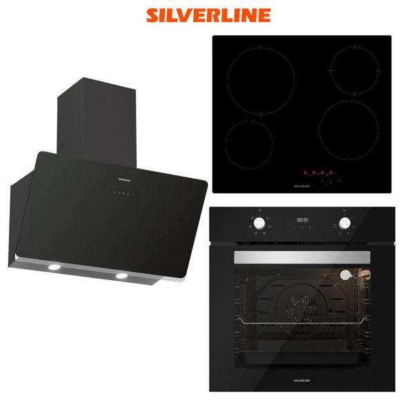 Silverline Ankastre Set [SOHO60+VC5446B+BO6504B] (SLV111) resmi