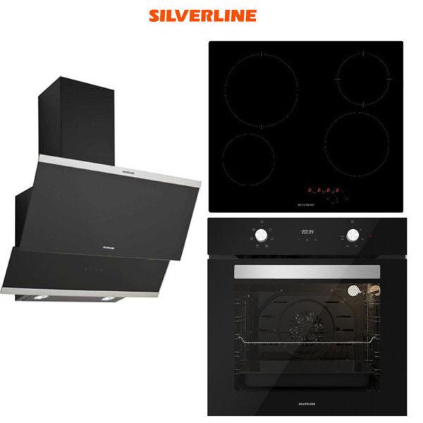 Silverline Ankastre Set [CLASSY60+VC5446B+BO6502B] (SLV129) resmi
