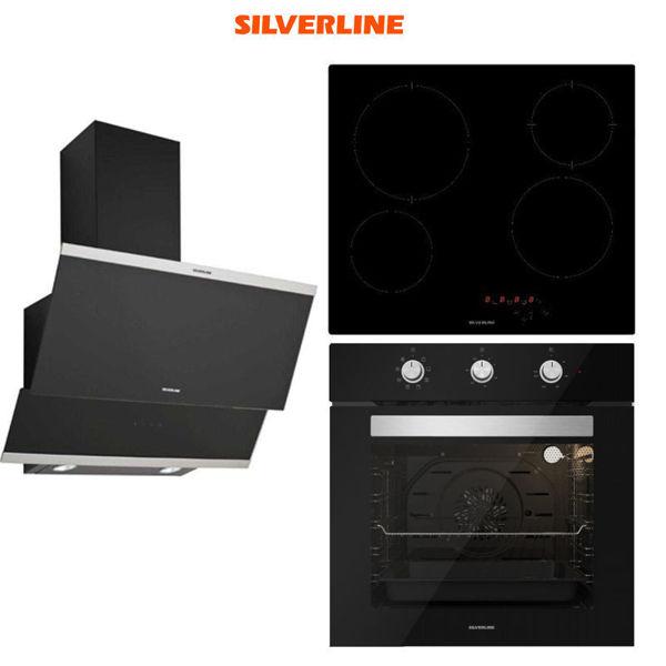 Silverline Ankastre Set [CLASSY60+VC5446B+BO6503B] (SLV128) resmi