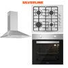 Silverline Inox Ankastre Set [CONIC60+AS5378X+BO6501X] (SLV121) resmi