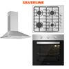 Silverline Inox Ankastre Set [CONIC60+AS5378X+BO6503X] (SLV122) resmi