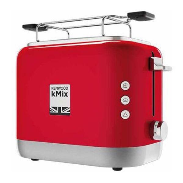 Kenwood TCX751RD kMix Ekmek Kızartma Makinası - Kırmızı resmi