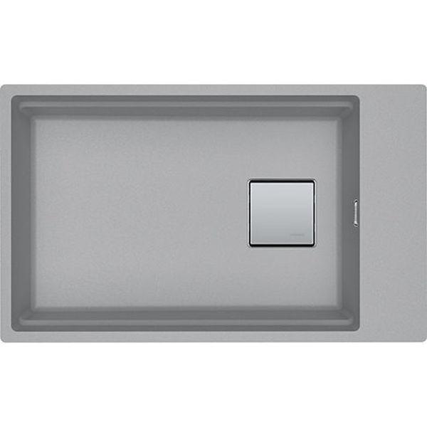 Franke KNG 110-62 Stone Grey Tezgahaltı Granit Evye resmi