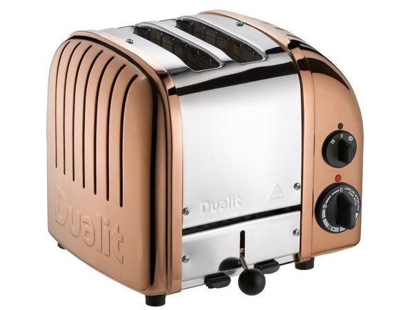 Dualit Classic Bakır 2 hazne ekmek kızartma resmi