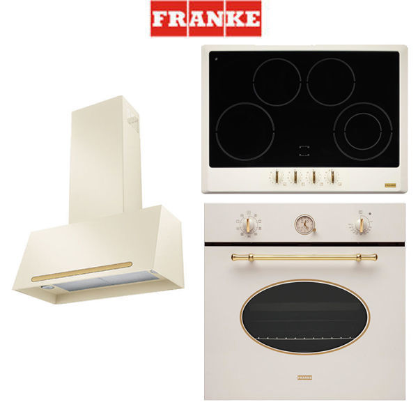 Franke Classicline Cream 1 [FHCL7554GTCPWC+FCL70PW70+CL85MPW+FHCL7044CPW] resmi