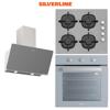 Silverline Gri Ankastre Set [SOHO60+CS5343S+BO6503S] (SLV106) resmi