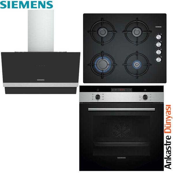 Siemens Ankastre Set [LC65KAJ60T+EO6C6PB11O+HB013FBS1T] (SMN19) resmi