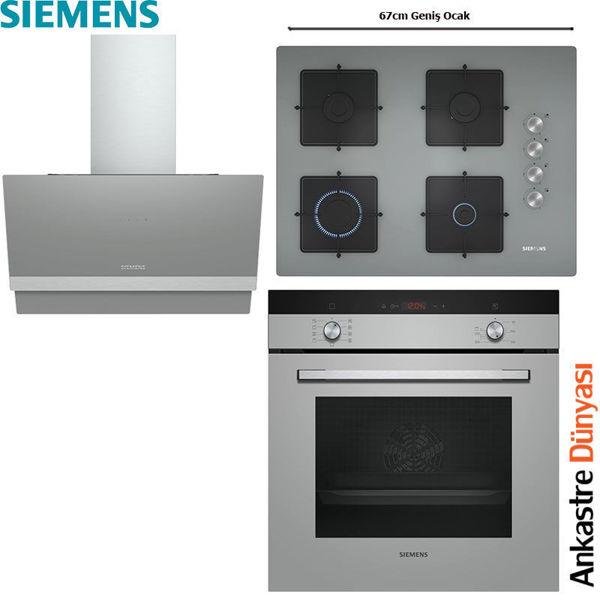 Siemens Ankastre Set [LC65KAJ70T+EO7C8PO12O+HB234FEH0T] (SMN22) resmi